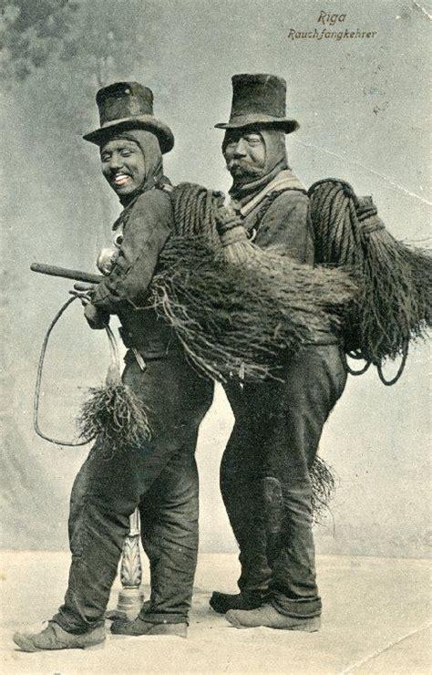 chimney sweeper kaminkehrer images  pinterest