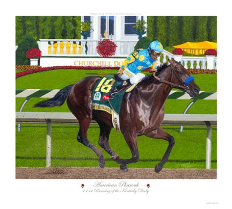 Nick Do The Kentucky Derby by Nick Martinez American Pharoah Wins The 2015 Kentucky Derby