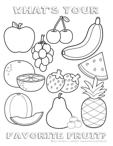 Healthy Food Coloring Pages Preschool | healthy lifestyle worksheets for kindergarten resources