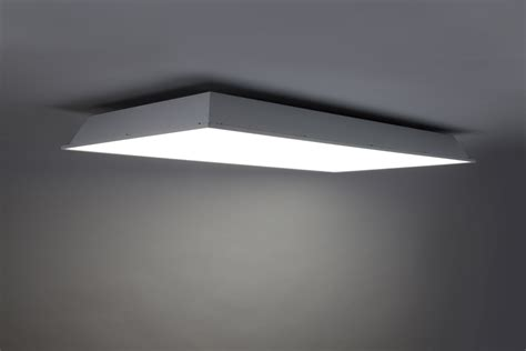 In Ceiling Light Fixtures Ge S Lumination Bt Series Led Lighting Fixture Refreshes Commercial Ceilings Ge Lighting
