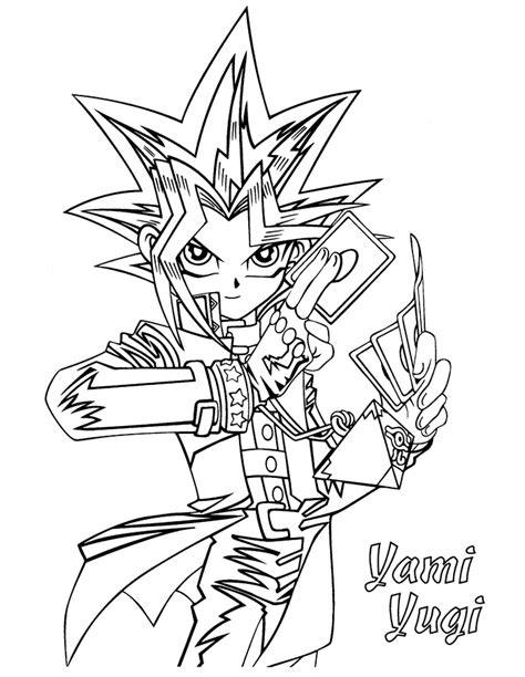 yugioh coloring pages yu gi oh coloring pages learn to coloring