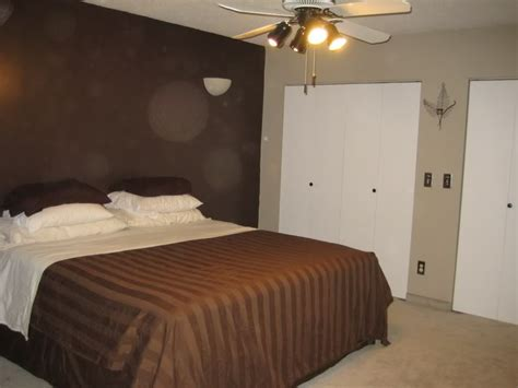 dark brown bedroom walls light brown walls with dark brown accent wall paint