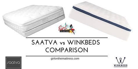 Mattress Comparisons And Reviews winkbeds vs saatva mattress comparison the big fight