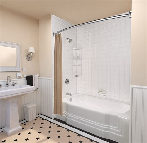 Ideas For Showers In Small Bathrooms Bath Fitter Homestars