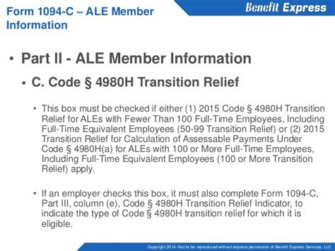 section 4980h reporting under code section 6055 and 6056