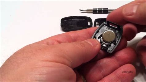 replace  remote battery   honda accord youtube