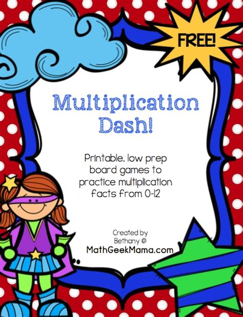 printable games to play at home easy low prep printable multiplication games free