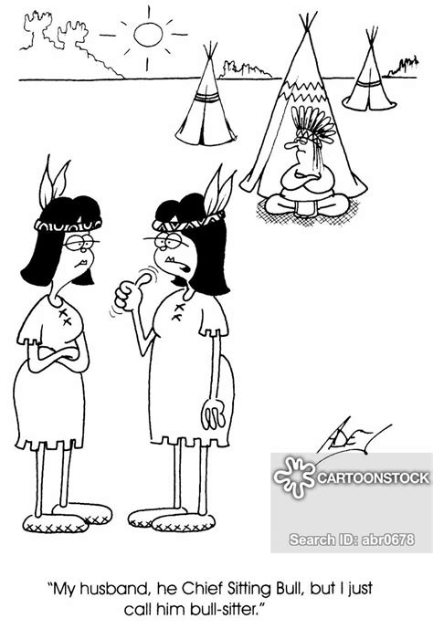 Tepees Cartoons and Comics - funny pictures from CartoonStock