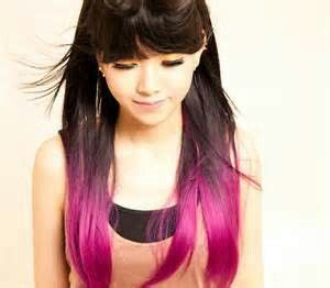 Bottom Half Of Hair Dyed | bottom half dyed hair color hair that i like pinterest