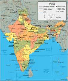 A Map Of India by India Map And Satellite Image