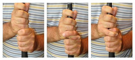 baseball grip golf swing which golf grip is best for you the grateful golfer