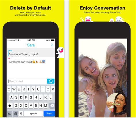 snap chat update 2015 snapchat adds tap to view to make it easier to watch