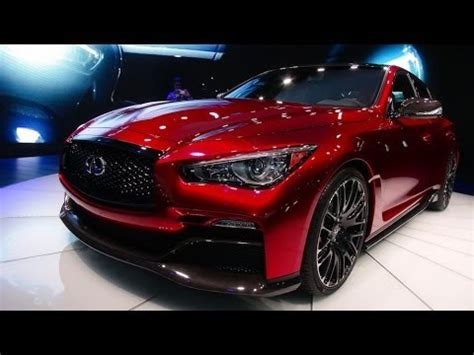the infiniti eau concept sports car debut at the detroit auto show
