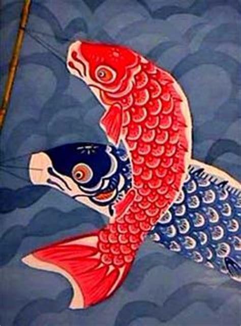 new year fish kite kites on koi fish and cardboard