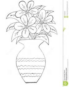 drawing pencil sketch of flowers pot drawing of sketch