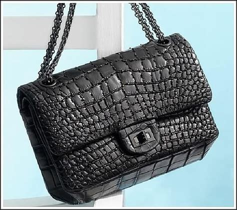Chanel Forever Alligator by Chanel Classic Flap In Alligator Purseblog
