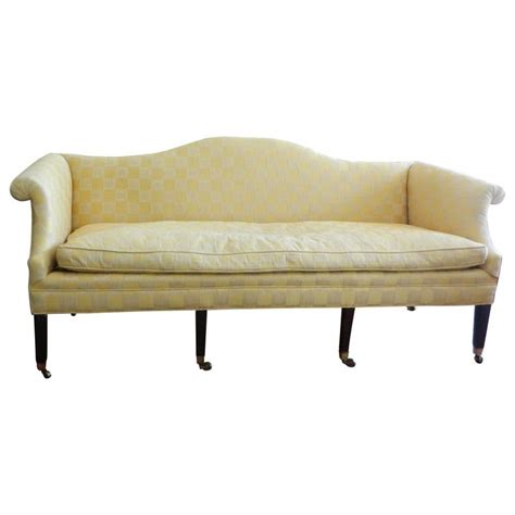 Federal Sofa by American Chippendale Federal Style Upholstered Sofa Circa 1780 For Sale At 1stdibs