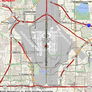 Dallas Airports Map by Apartments Near Dfw