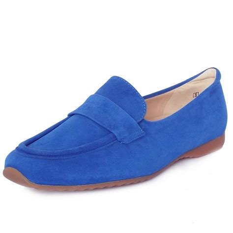 blue suede loafers kaiser uk rienzi azzurro bright blue suede