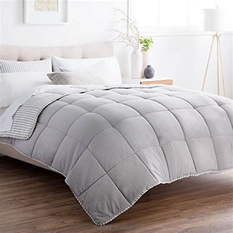 Chambray Comforter by Brookside Striped Chambray Comforter Set Includes 2