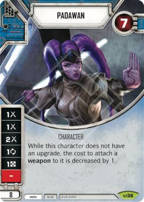 wars destiny card template 036 padawan swdestiny