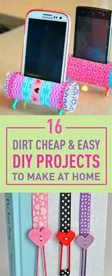 Dirt Cheap Home Decor The 25 Best Easy Diy Crafts Ideas On Easy Diy Room Decor Cool Crafts And Summer Diy