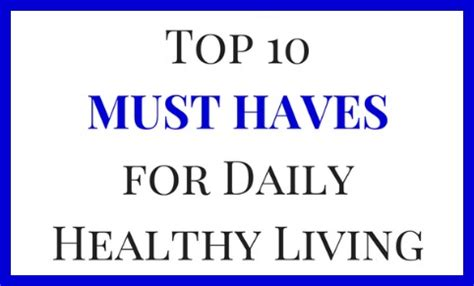must haves for living a healthy life kitchen weapon 12 fun smart and healthy things to do this spring