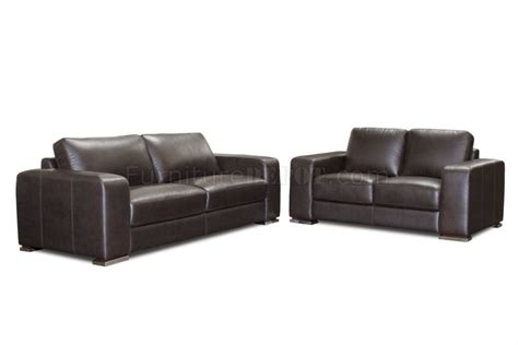 deep leather sectional deep mocca top grain leather hudson sofa loveseat set