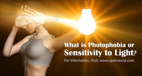 What Is Photophobia Or Sensitivity To Light How Is It
