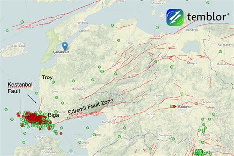 earthquake fault damaging earthquake swarm shaking western turkey