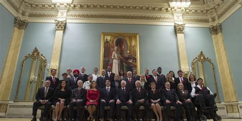 Trudeau Cabinet by Trudeau S Cabinet Isn T As Diverse As You Think