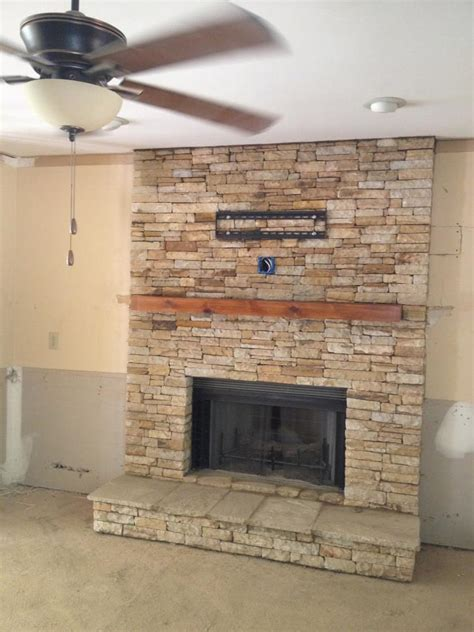 Home Depot Backsplash Kitchen air stone fireplace surround fireplace design ideas