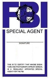 fbi id card template free fbi card 2 by kogoromouri on deviantart