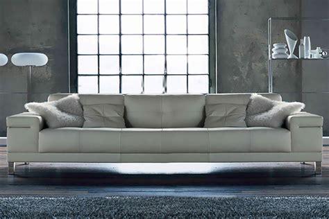 divano 4 posti salotto angolare in pelle vento