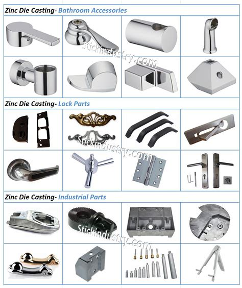 bathroom components zinc die casting for household bathroom components for