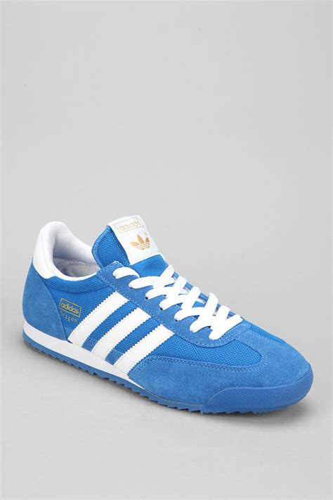 outfitters adidas classic sneaker in blue for lyst