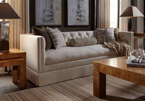 lillian august sofas lillian august furnishings tufted sofa furniture