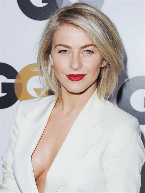 blown dry and silky julianne hough s hair looked and
