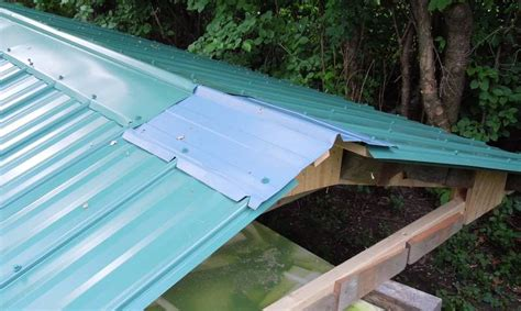 How To Install Tin Roof On Shed by Building A Shed Metal Roofing