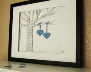 unique wedding present unique wedding gift personalized 3d song tree made from song poem vows wedding gift