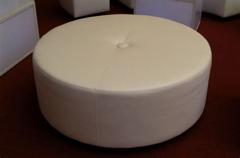 round large ottoman party equipment rental prices lighting furniture