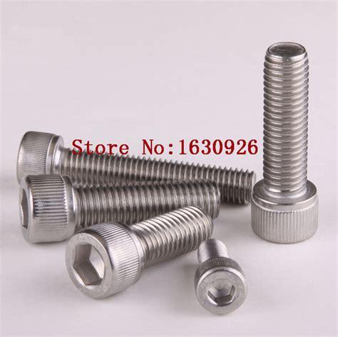 free shipping 100pcs lot metric thread din912 m3x10 mm m3 10 mm 304 stainless steel hex socket