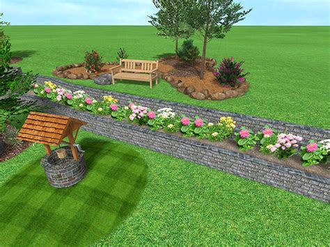 uneven backyard triyae com small uneven backyard ideas various design