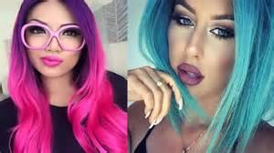 colores de pelo colores de cabello tipos de estilo mujer