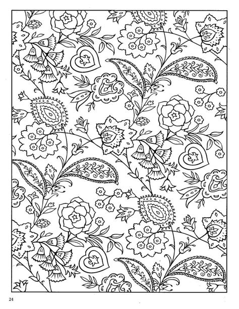paisley designs coloring book dover paisley designs coloring book coloring pages yoo
