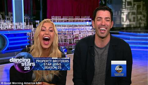 new guy on gma property brothers drew scott joins dancing with the stars