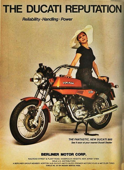 Ducati Motorrad Vintage by 291 Besten Ducati Vintage Brochures Posters Art