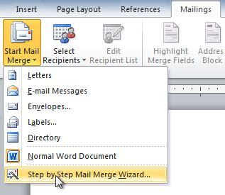 word mail merge from excel vba how to mail merge with
