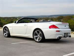 find used 2008 bmw m6 convertible smg v10 500hp alpine