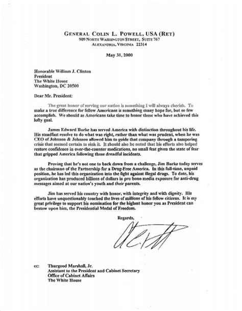 Support Letter Nomination E Burke